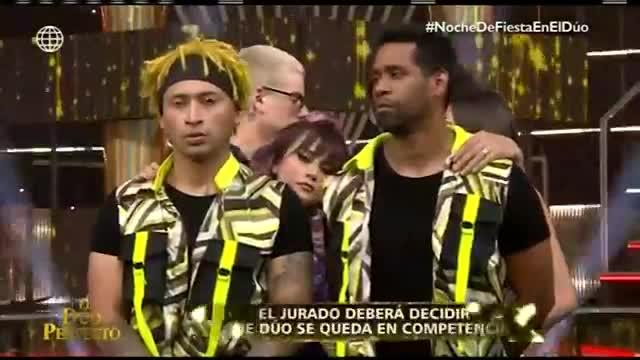 """""""El dúo perfecto"""": 'Zumba' y 'Giselo' se despidieron de la competencia"""