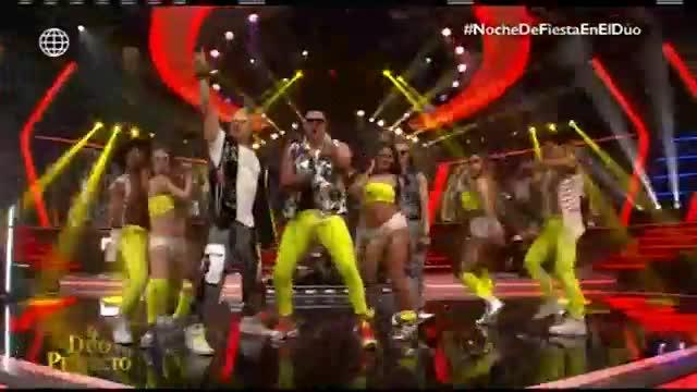 """""""El dúo perfecto"""": Mario Hart y Nesty pusieron a bailar a Tilsa Lozano con mix de reggaeton"""