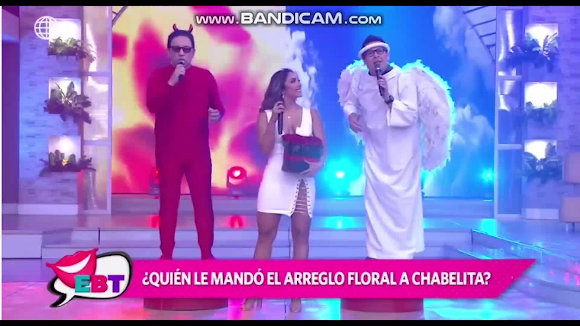 EBT: bailarina Isabel Acevedo recibe tierno regalo de su admirador secreto