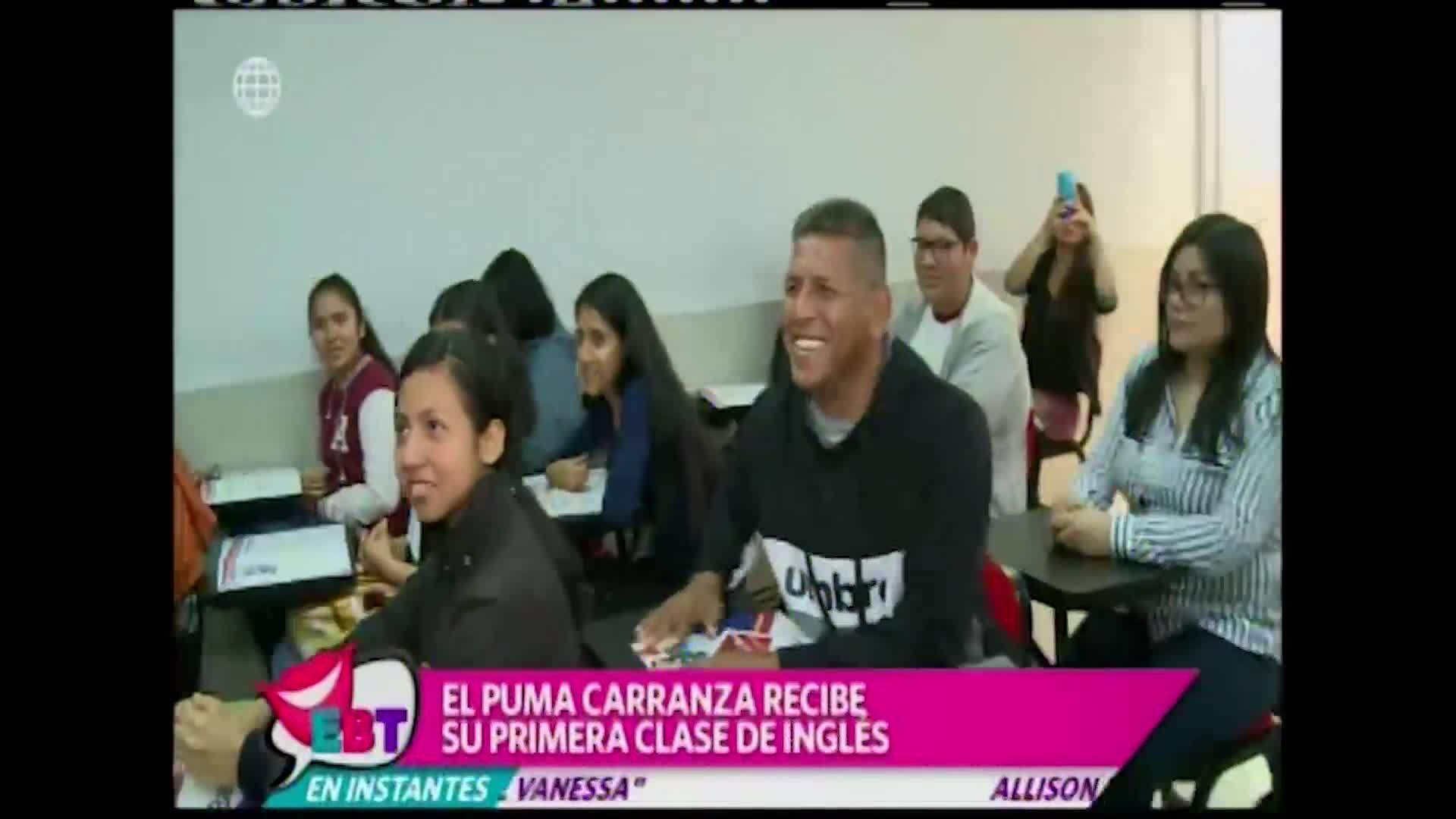'Puma' Carranza cambia la pelota por los libros