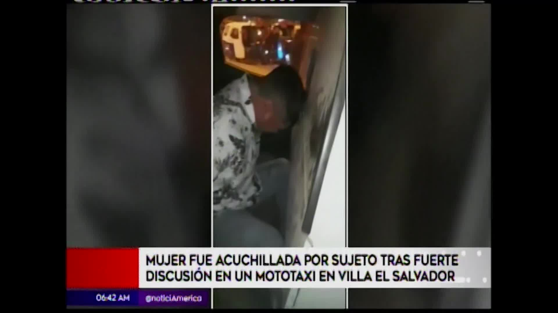 Villa El Salvador: mujer es acuchillada en el interior de un mototaxi