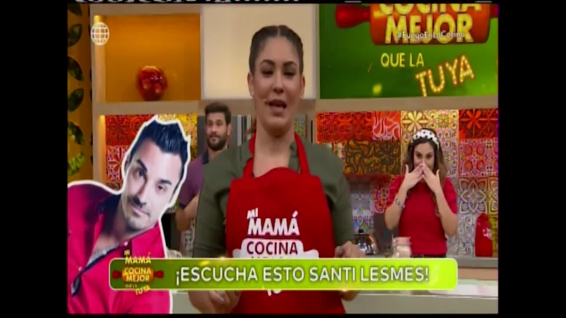 Tilsa Lozano le envía contundente mensaje a Santi Lesmes