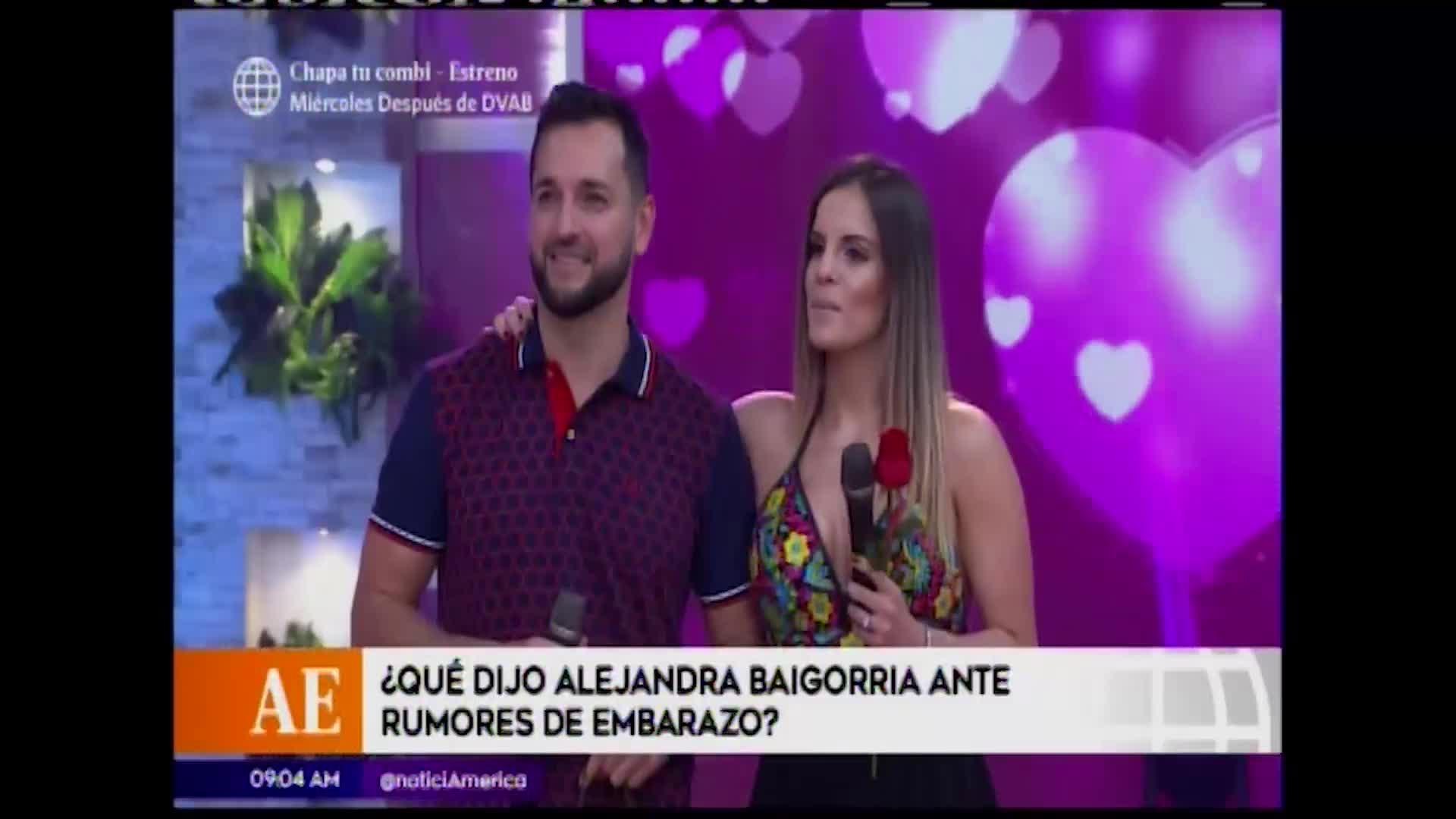 En boca de todos: Alejandra Baigorria responde a rumores sobre supuesto embarazo
