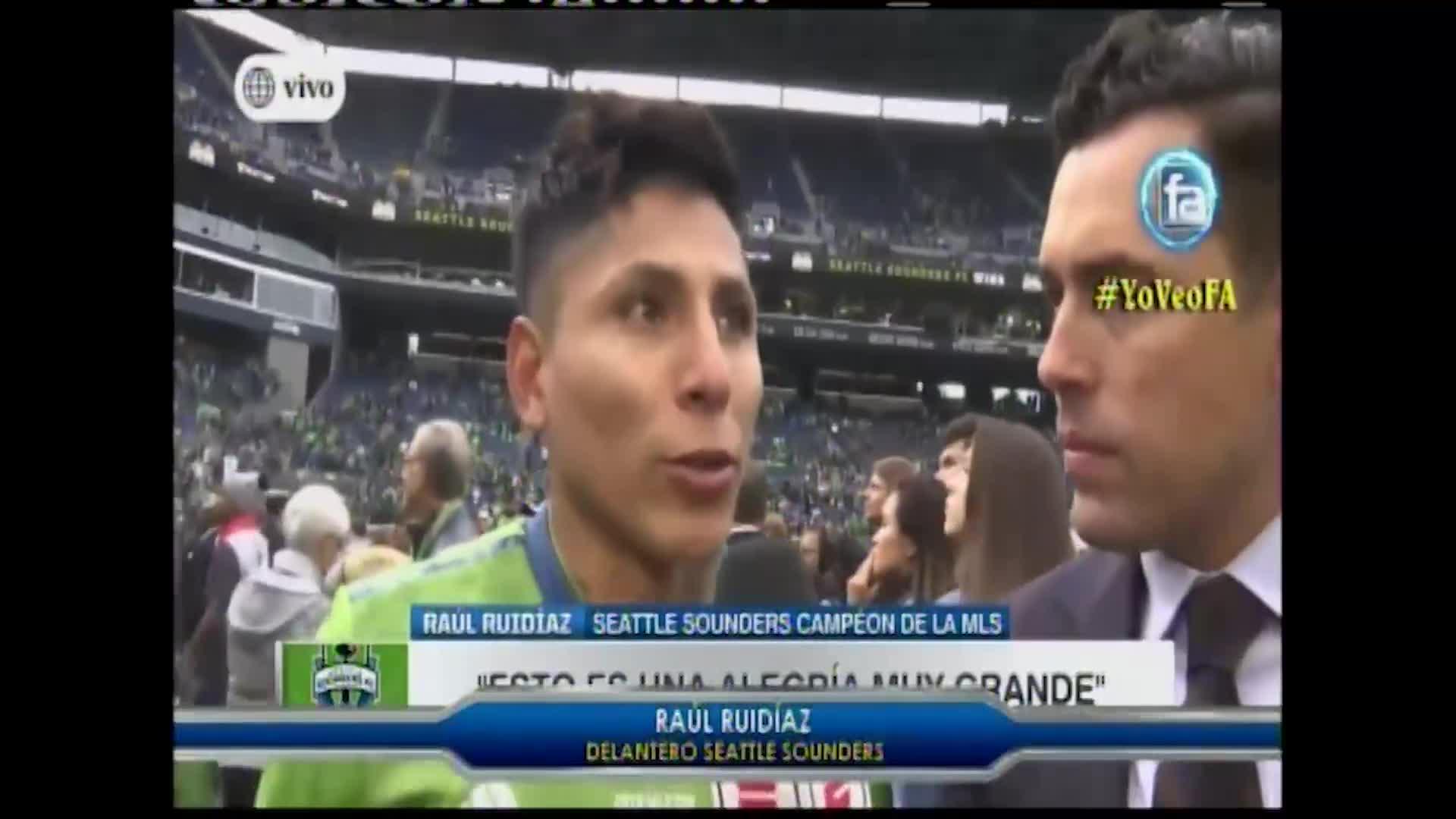 Gol de Ruidíaz coronó como campeón al Seattle Sounders
