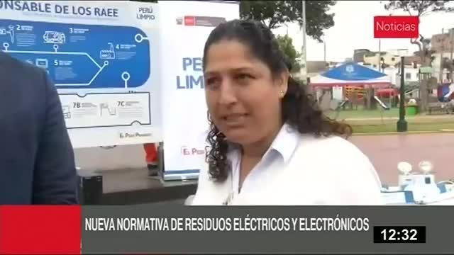Ecología: tecnorecicla busca reducir desechos eléctricos