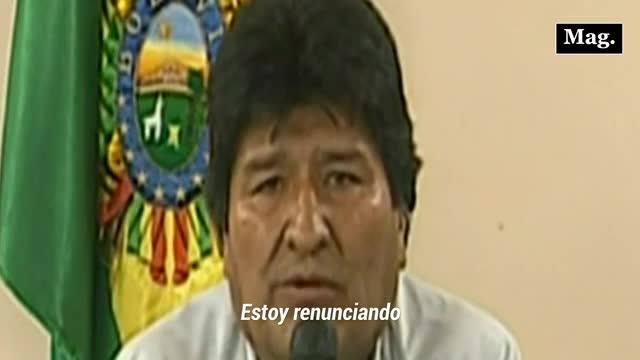 ¿Por qué renunció Evo Morales? 5 claves para entender la decisión del expresidente de Bolivia
