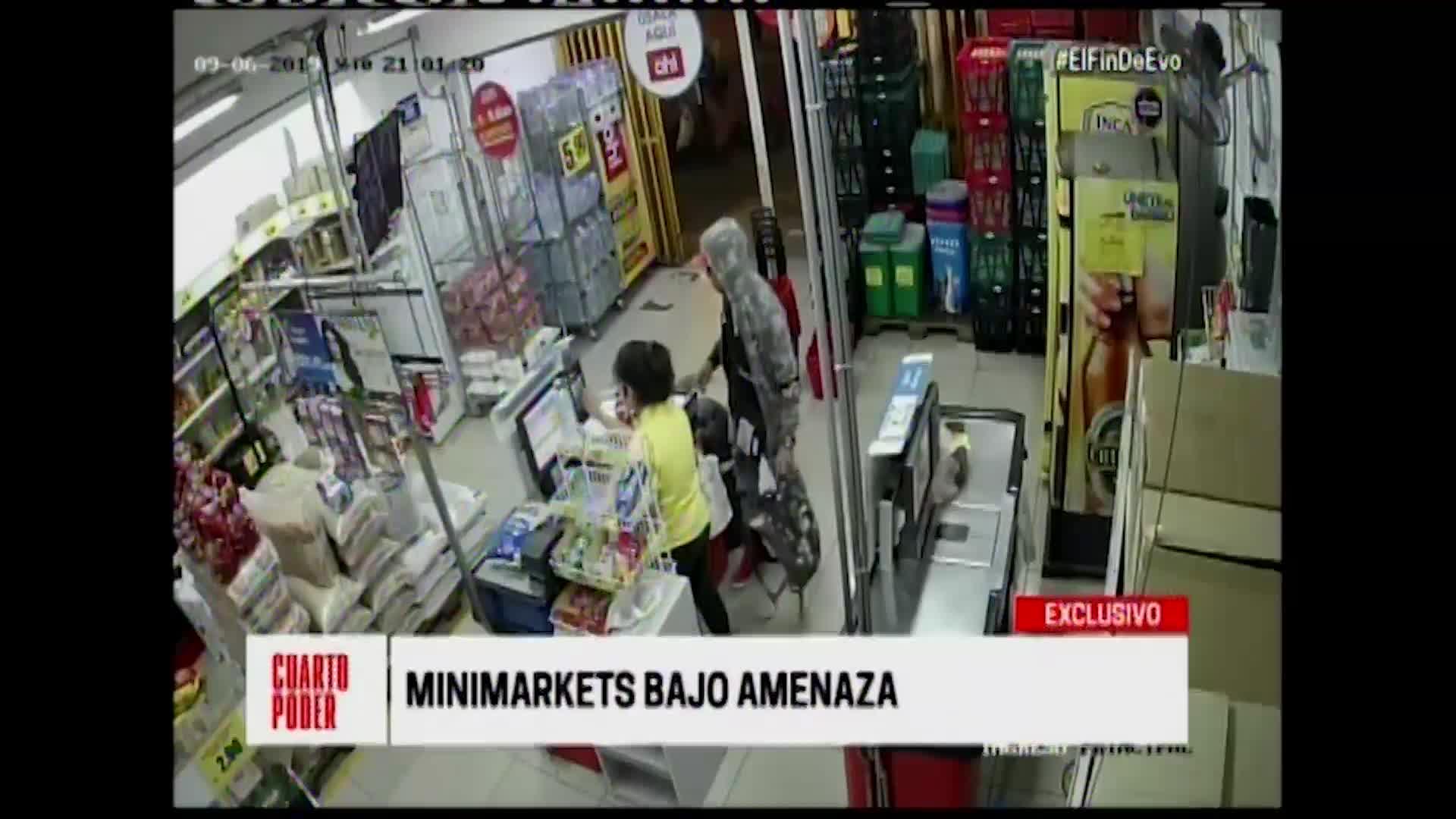 Minimarkets en la mira de los delincuentes