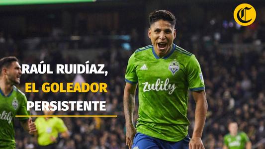 Raúl Ruidíaz, el goleador persistente