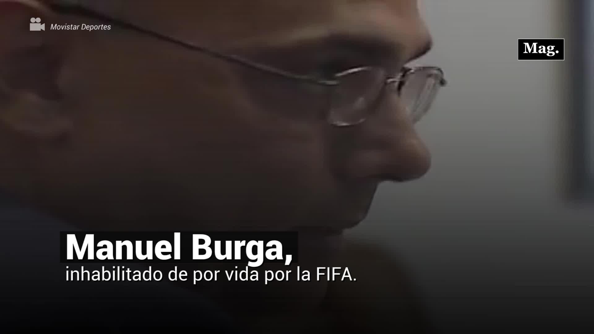 Manuel Burga, inhabilitado de por vida