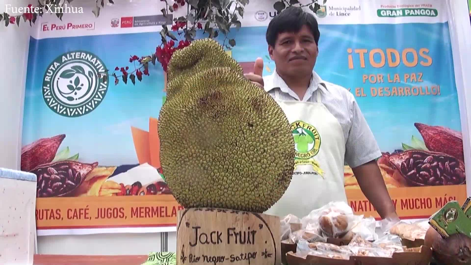 Frutos amazónicos llegan a la capital peruana