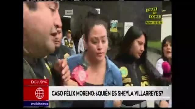 Félix Moreno: ¿Quién es la mujer que lo acompañó cuando fue capturado?
