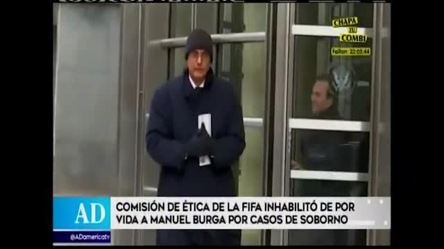 FIFA inhabilitó de por vida a Manuel Burga tras violar Código de Ética