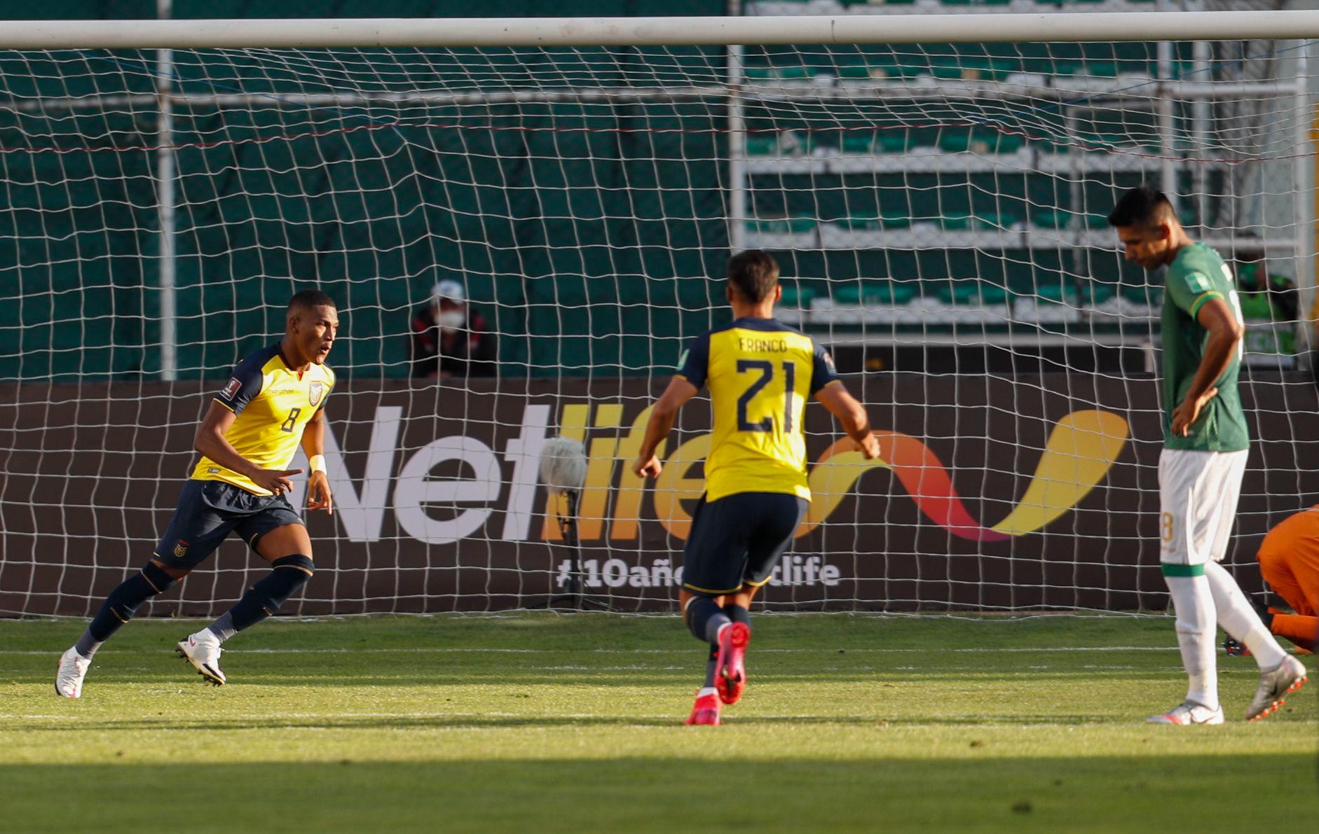 Eliminatorias sudamericanas: revive los goles de Ecuador ante Bolivia