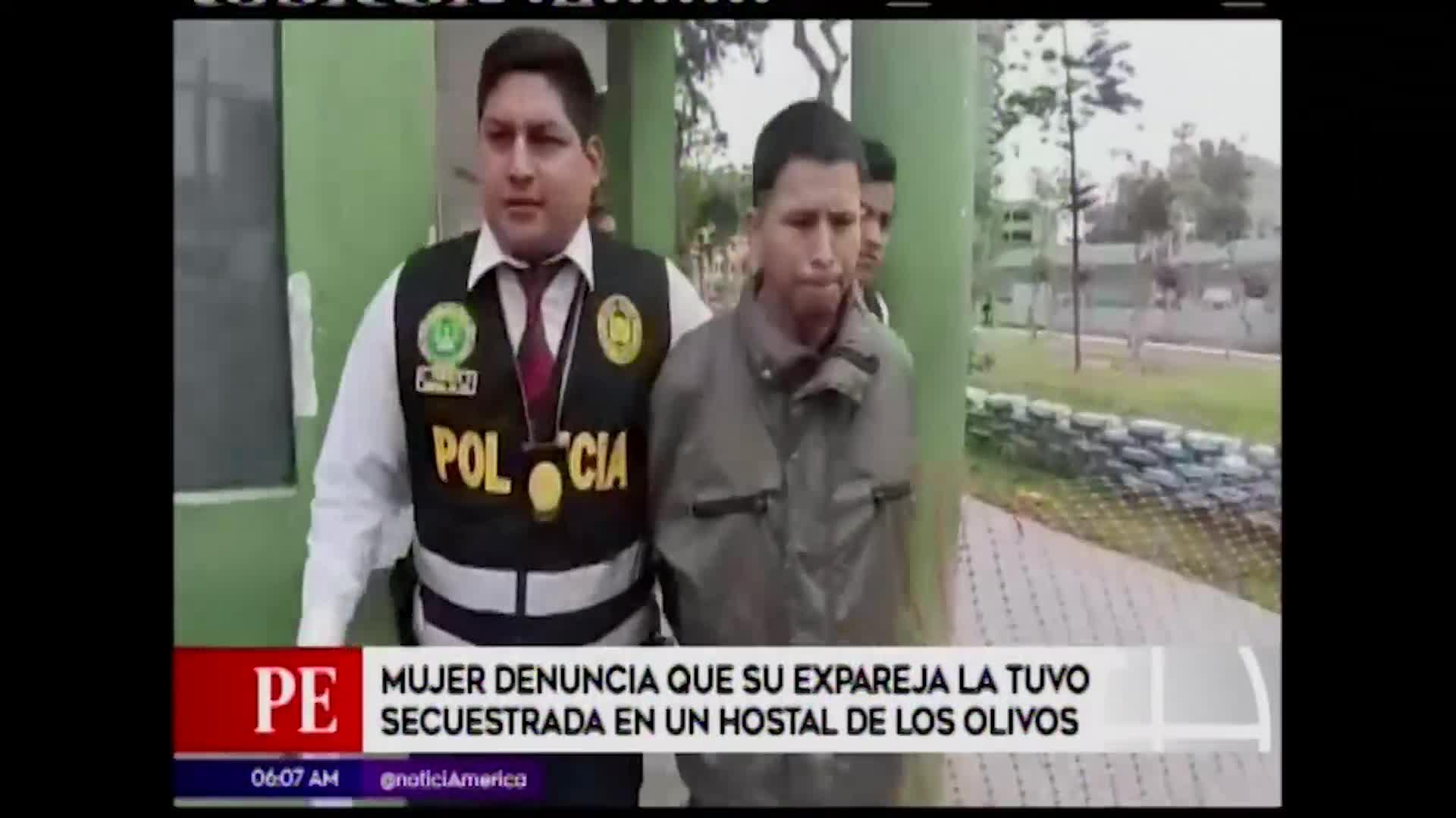 Los Olivos: mujer fue secuestrada y violada por su expareja en un hostal