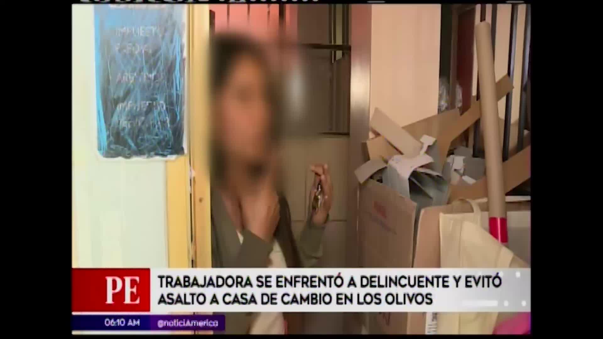 Los Olivos: trabajadora se enfrenta a delincuentes y evita robo a casa de cambio