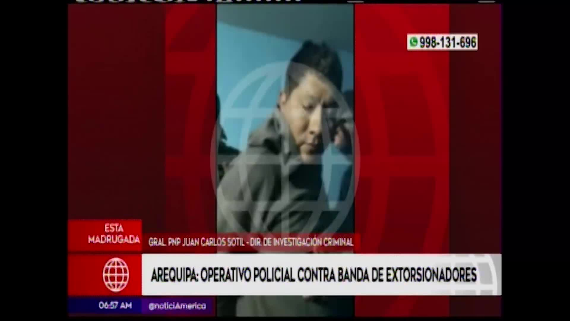 Arequipa: Policía capturó a 16 extorsionadores en megaoperativo