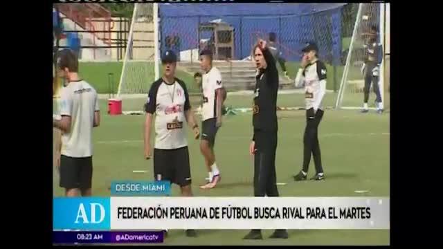FPF busca rival de emergencia para Perú