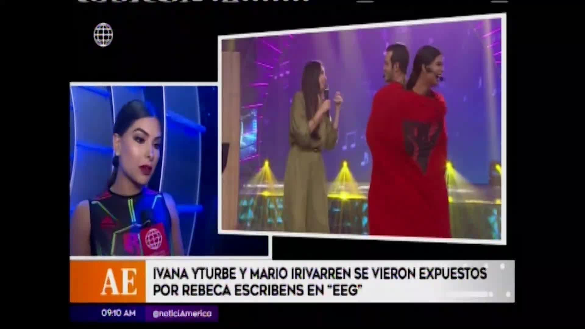 Ivana Yturbe habló tras pregunta de Rebeca Escribens sobre Mario Irivarren