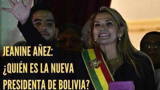 Jeanine Añez: ¿quién es la nueva presidenta de Bolivia?