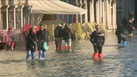 Estado de emergencia en Venecia por crecida de las aguas