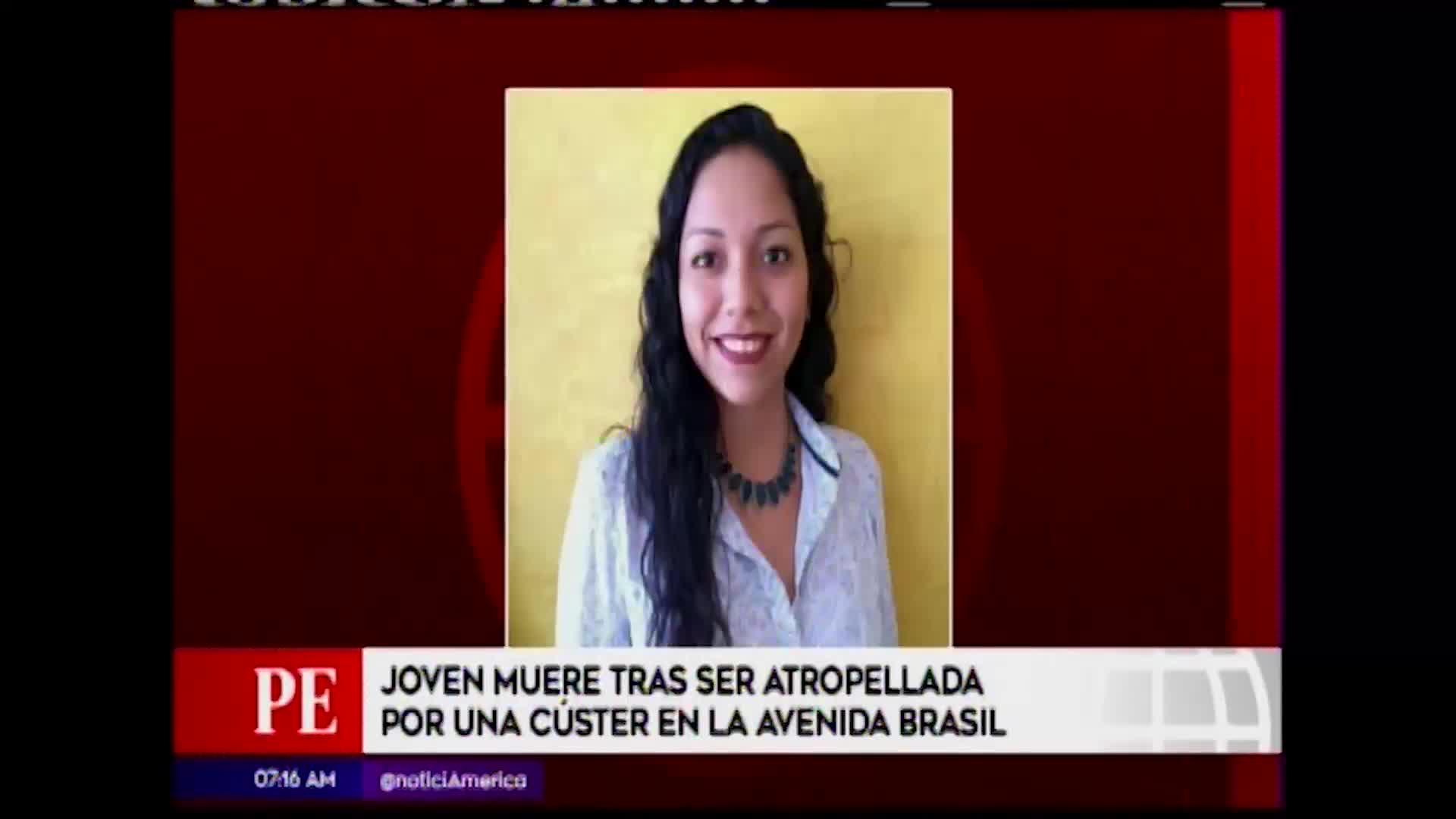 Jesús María: mujer fallece tras ser atropellada por una cúster en la avenida Brasil