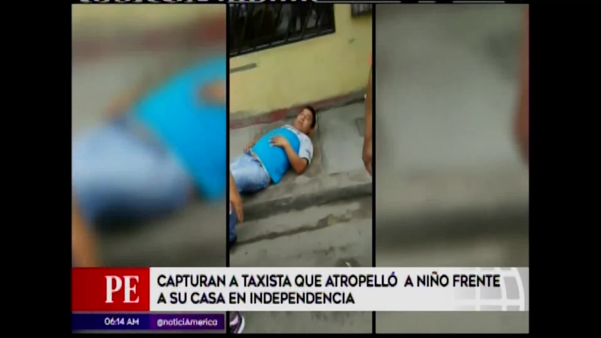 Independencia: niño de 3 años fallece al ser atropellado por taxista