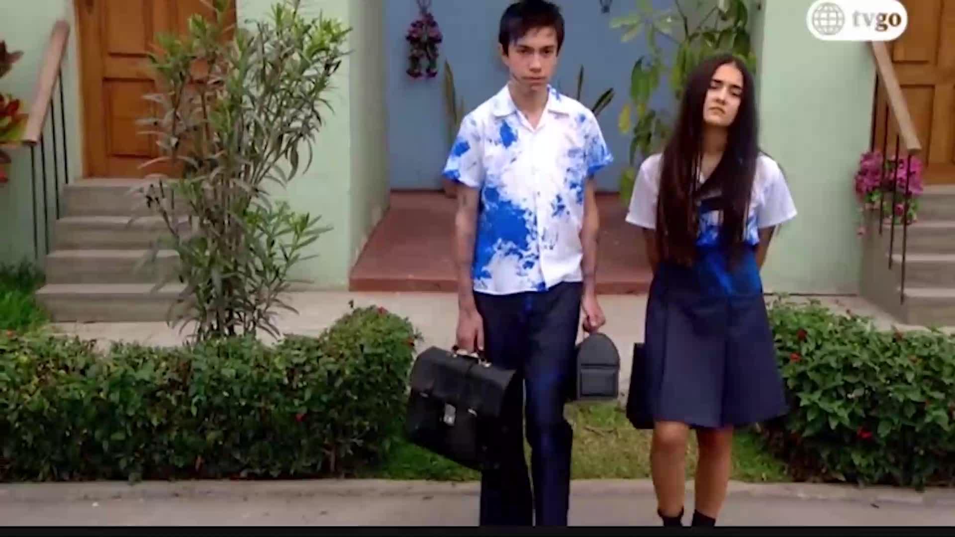 DVAB: Pedrito y Lily tuvieron fuerte pelea en su primer día de clases