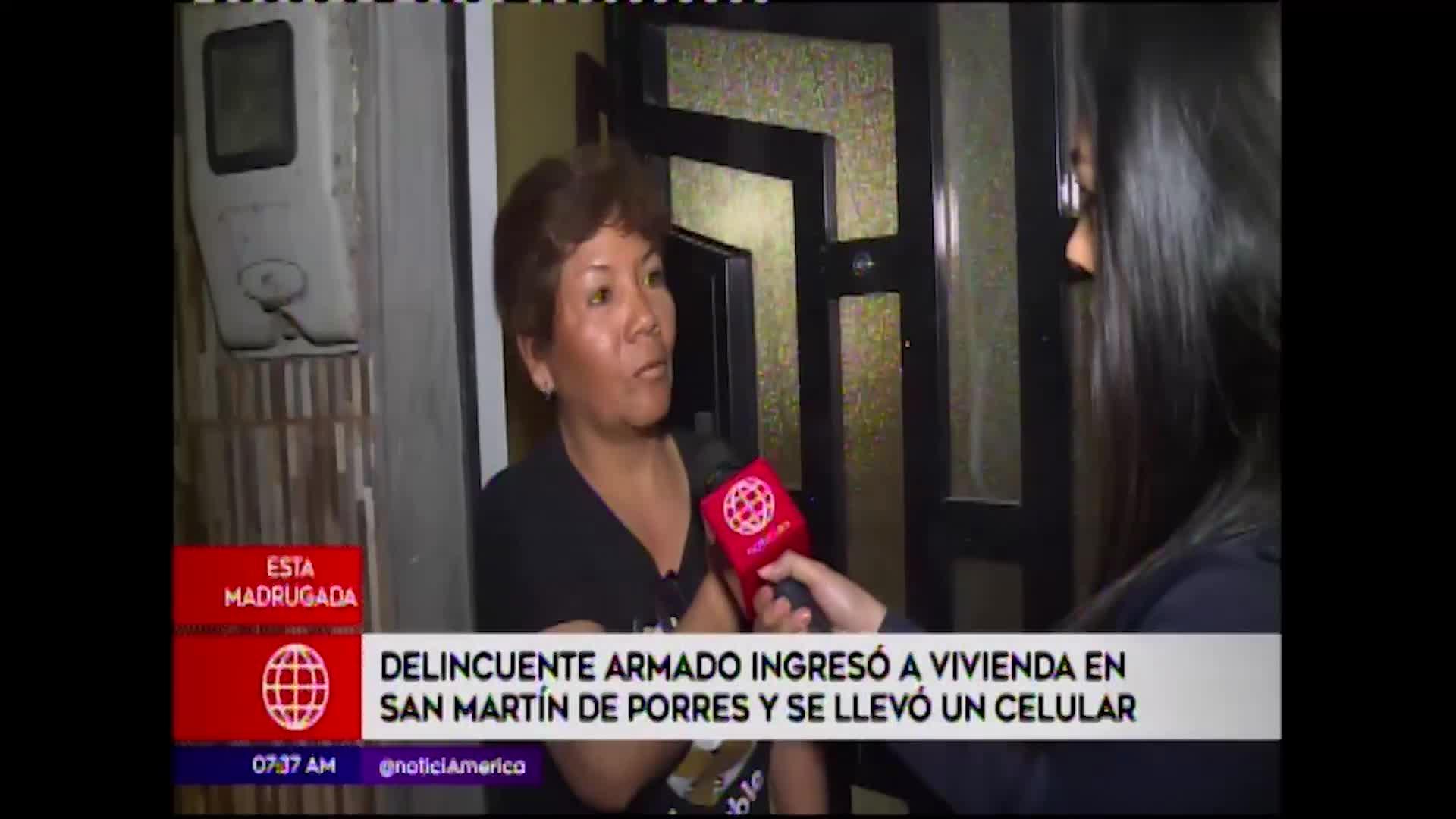 San Martín de Porres: delincuente armado entró a casa y se lleva un celular