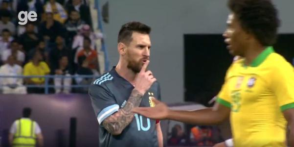 ¿No era amistoso? El tenso momento en el que Lionel Messi mandó a callar a Tite en el Argentina vs. Brasil - Diario Depor
