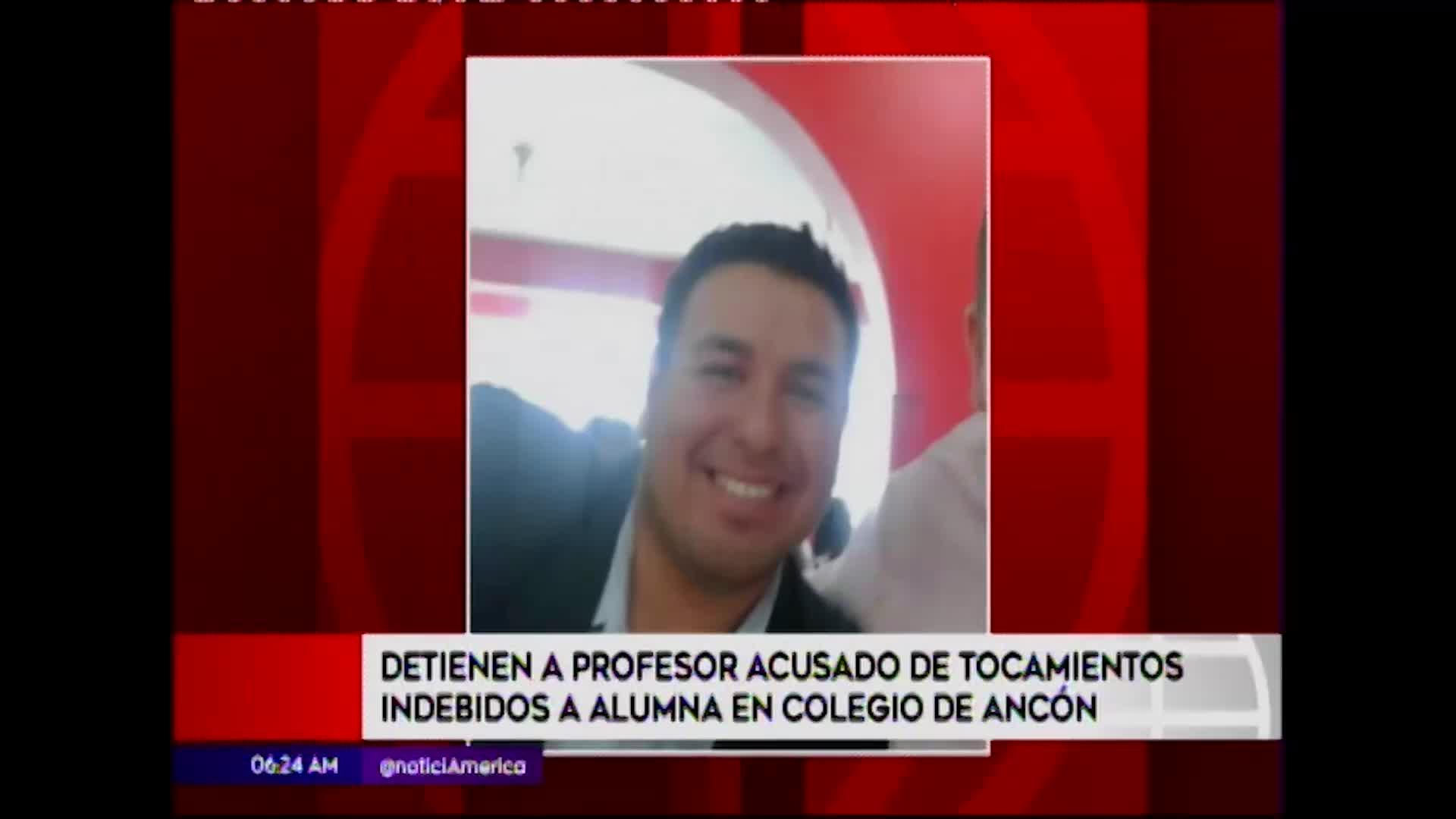 Ancón: acusan a profesor de realizar tocamientos indebidos a alumna