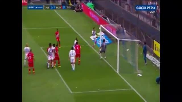Alianza Lima vs. Sport Huancayo: autogol de Antonhy Fuentes le dio el 2-1 a los victorianos | VIDEO - El Comercio