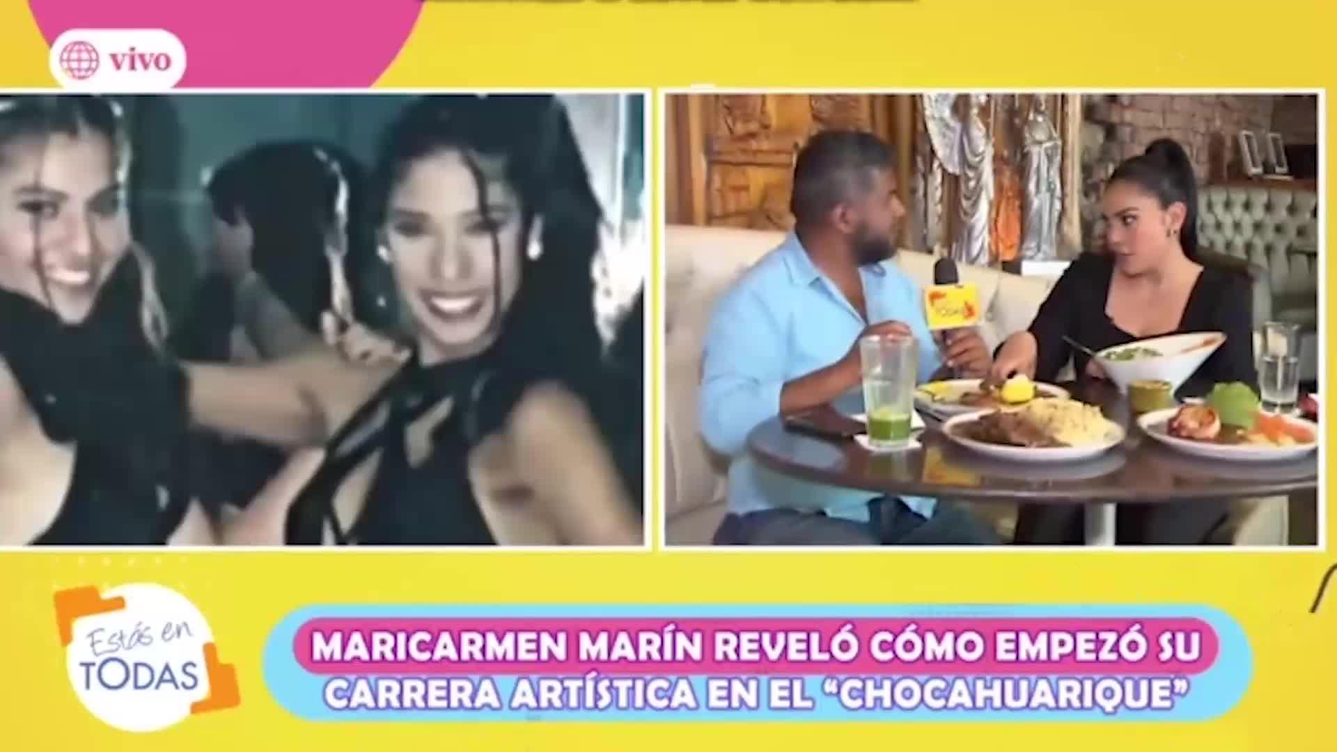 Estás en todas: Maricarmen Marín y la vez que se enfrentó a Karen Dejo en un casting