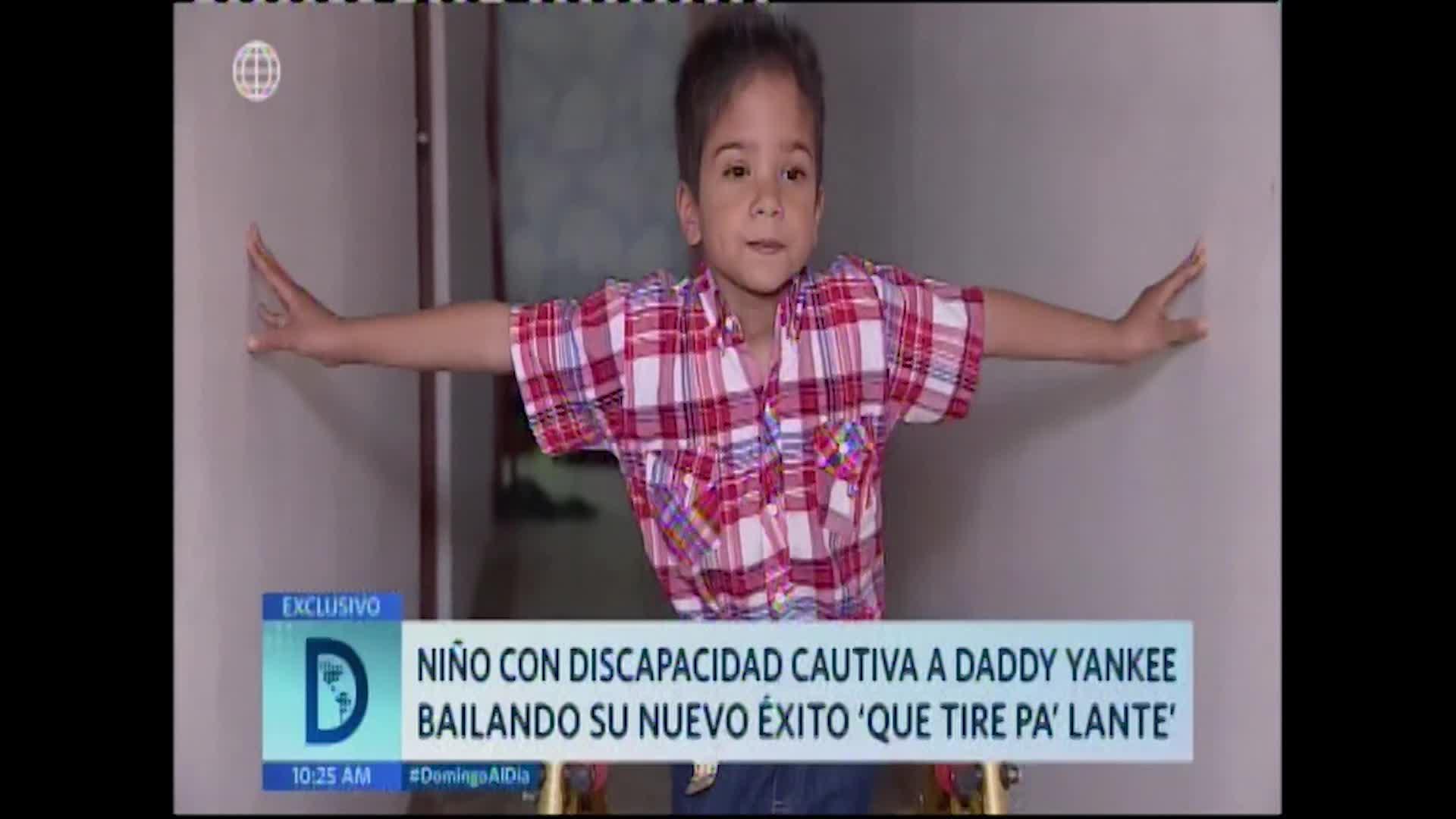 Conozca la historia del niño peruano con discapacidad que cautivó a Daddy Yankee