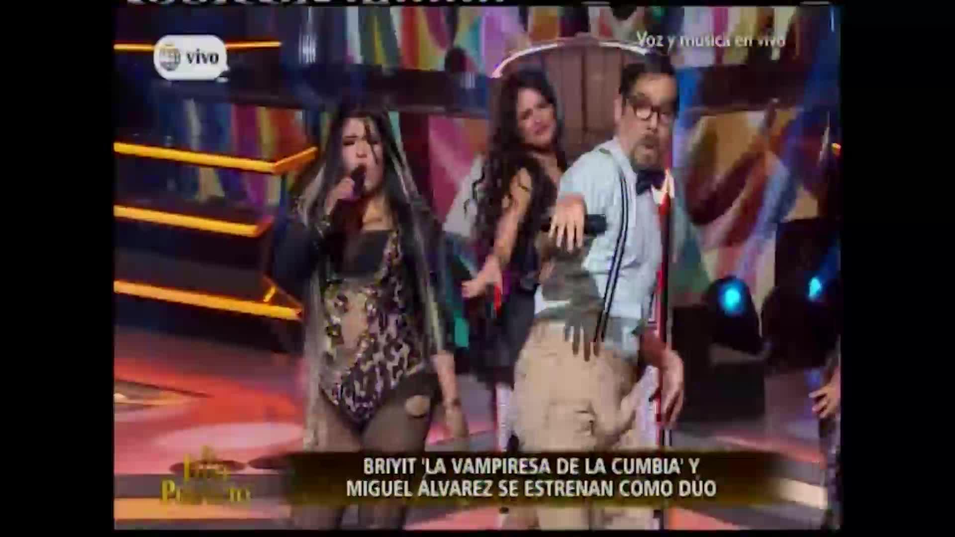 """""""El dúo perfecto"""": Miguel Álvarez y Briyit sorprendieron con su interpretación de """"Pimpinela"""""""
