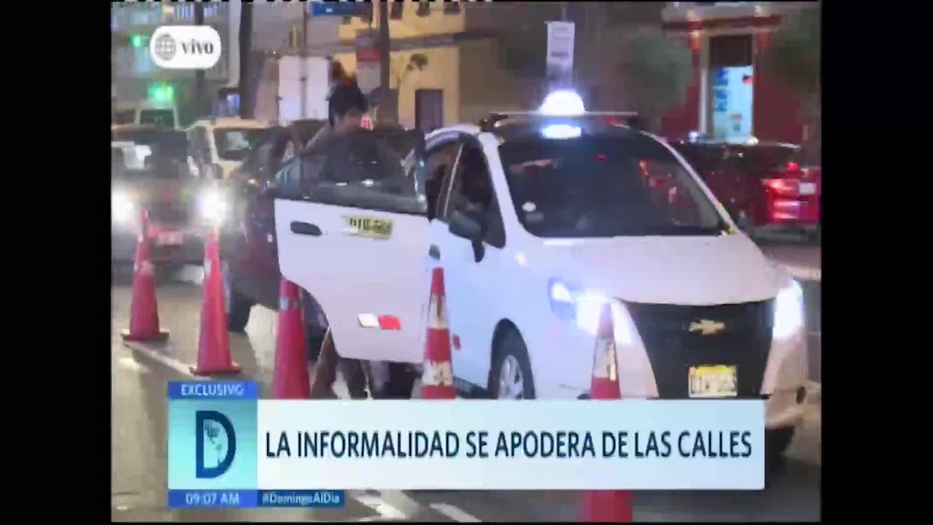 La informalidad vehicular se apodera de las calles en la capital