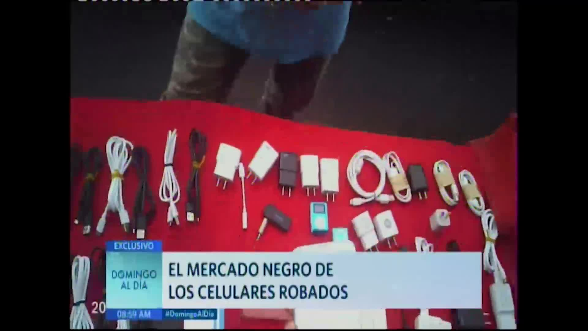 El mercado negro de los celulares robados