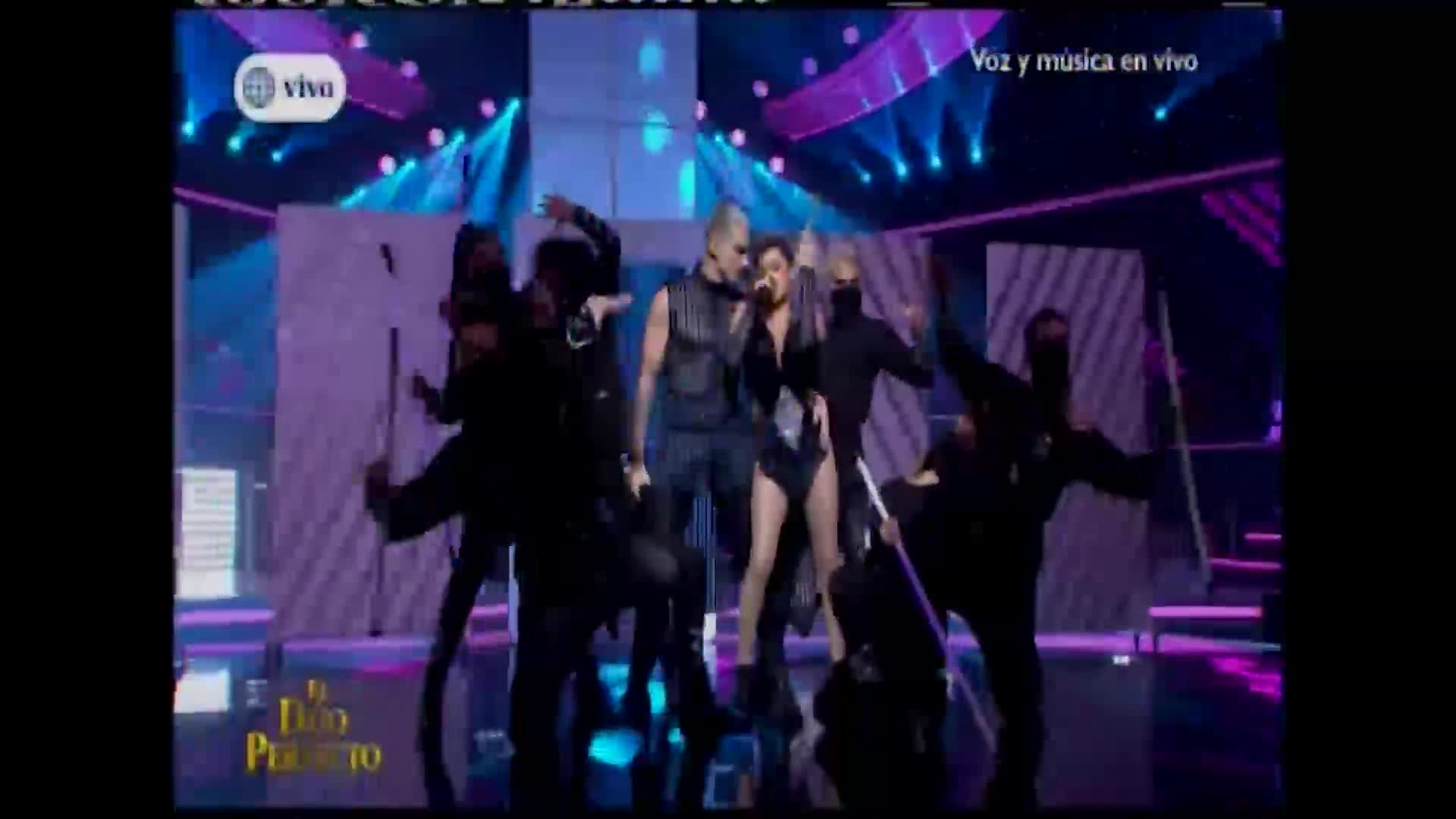 """""""El dúo perfecto"""": Amy G y Nesty brillaron en el escenario cantando """"Perro fiel"""""""