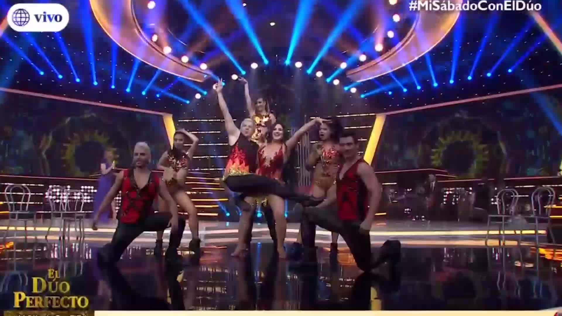 """""""El dúo perfecto"""": Michelle Soifer impresionó con interpretación de Shakira"""