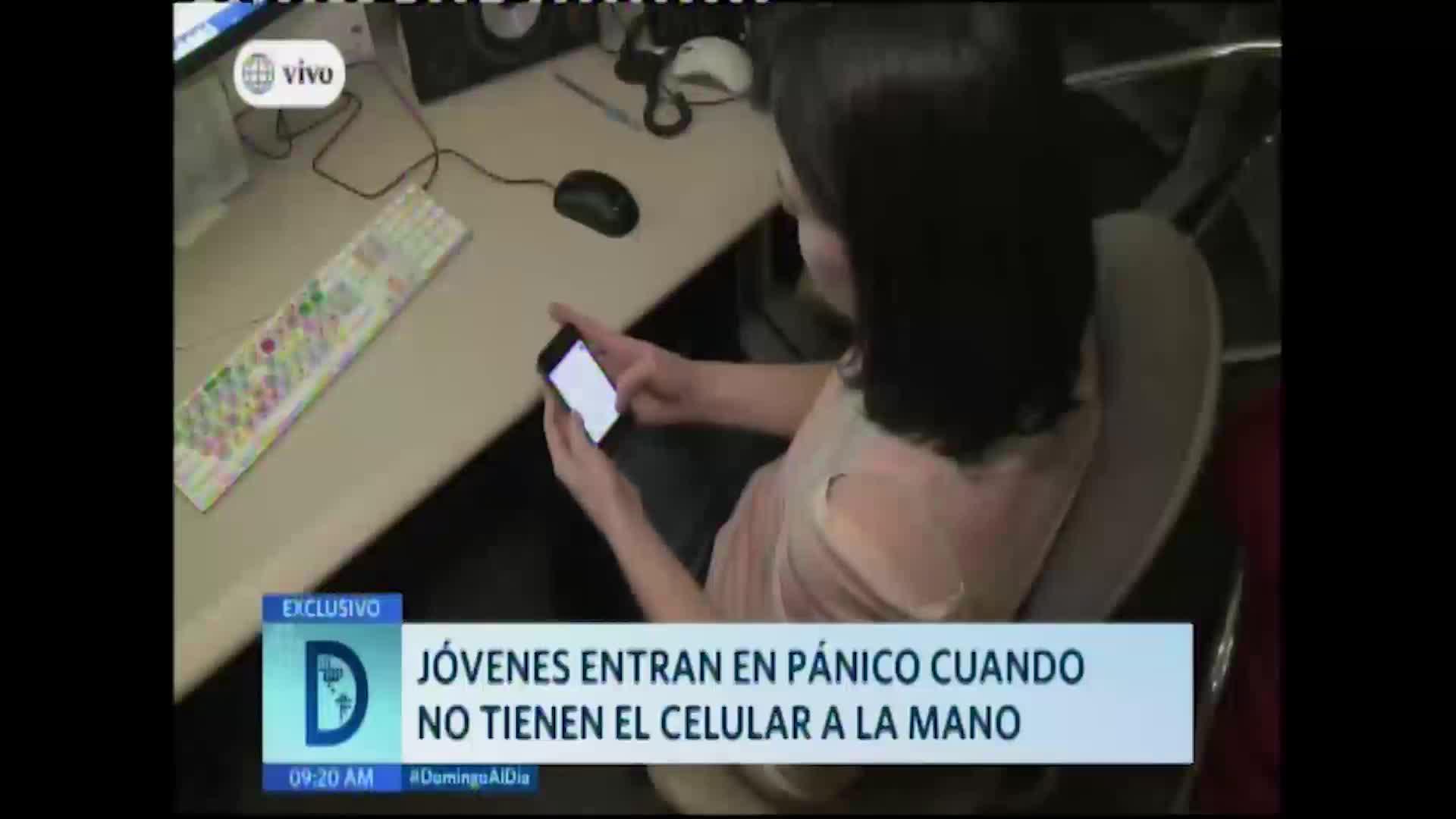 ¡Cuidado! La adicción a los celulares se apodera de todos