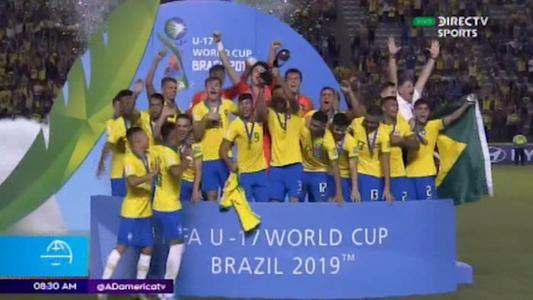 Brasil se alza con título de Mundial Sub 17