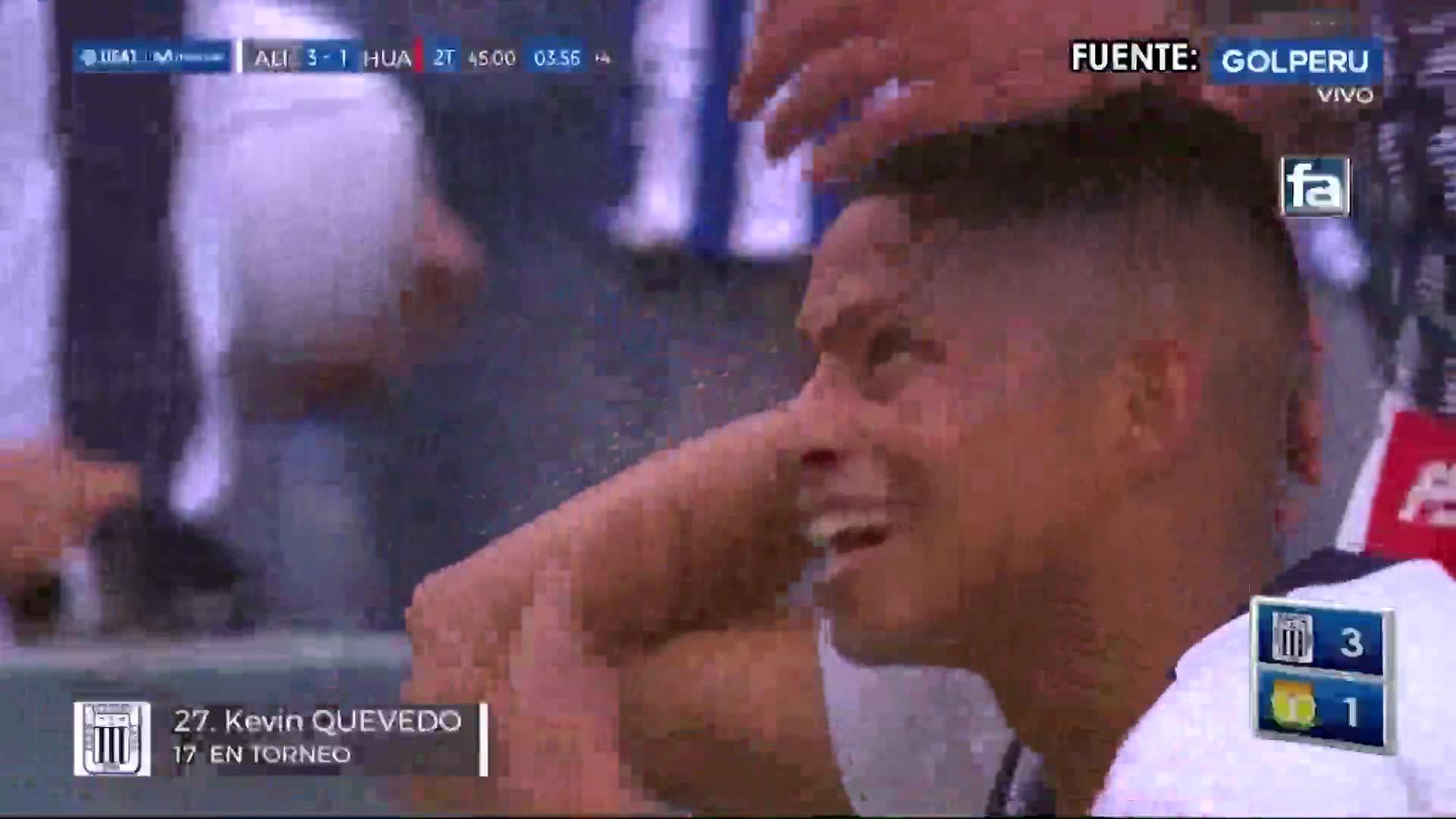 Alianza Lima derrotó a Sport Huancayo y se mantiene como líder del Torneo Clausura