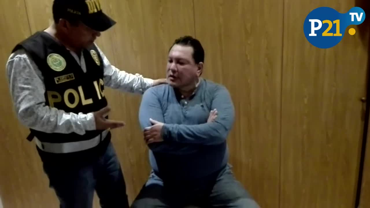 Así fue la captura de Félix Moreno en Cieneguilla por la Policía Nacional [VIDEO] - Diario Perú21
