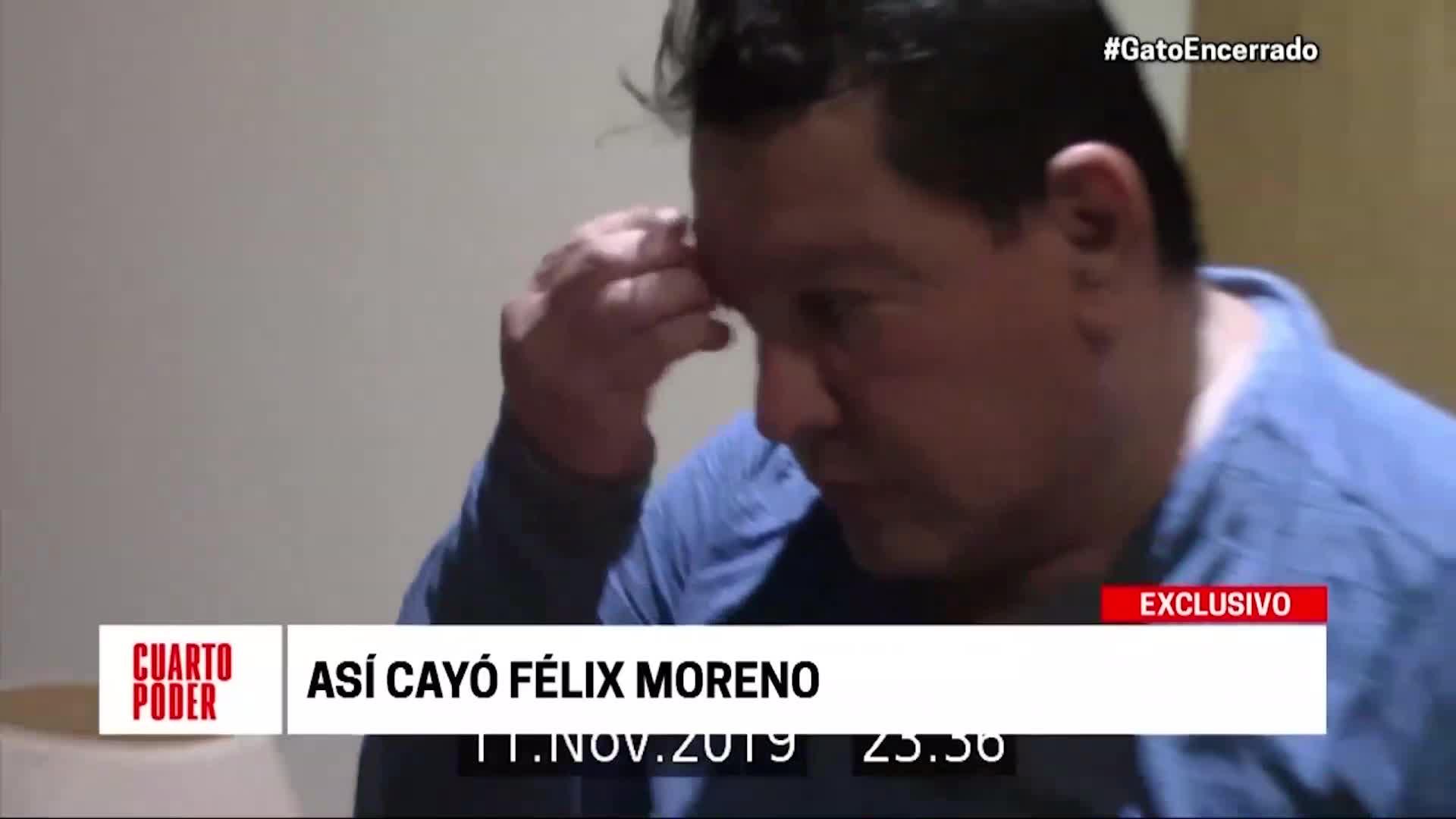 Así fue la captura del exgobernador regional Félix Moreno