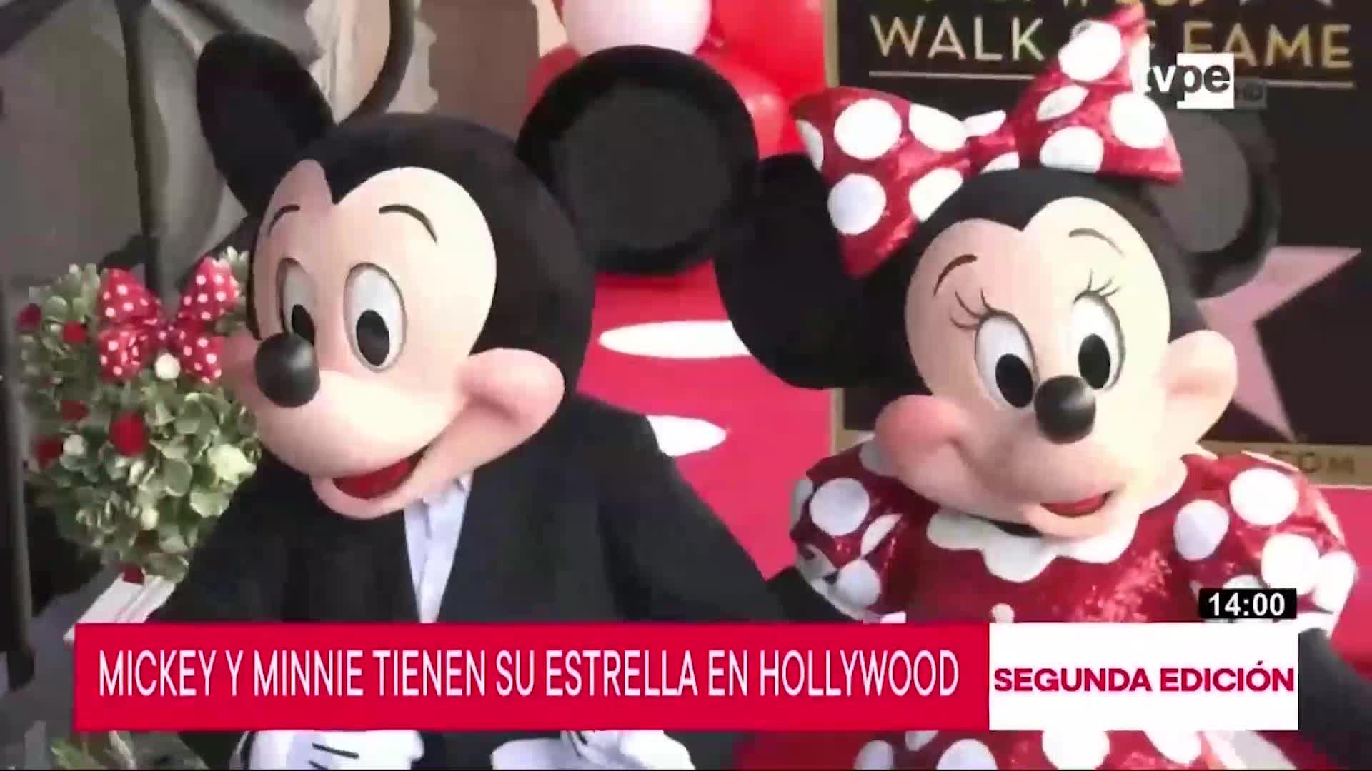 Mickey y Minnie Mouse cumplen 91 años