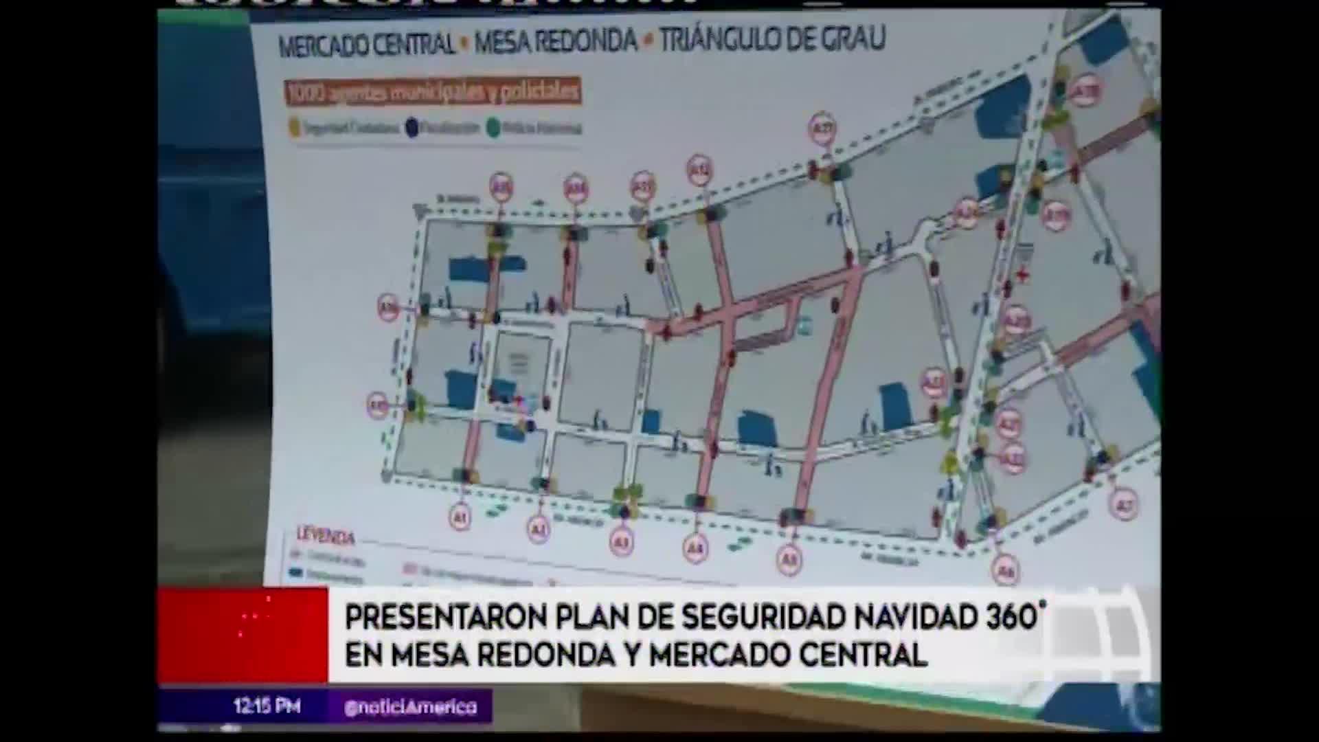Centro de Lima: se inicia plan de seguridad por fiestas navideñas