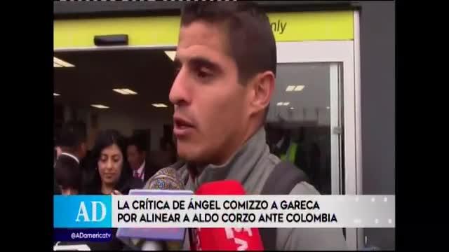 """Aldo Corzo: """"Ángel Comizzo habló en caliente, quería a todos sus jugadores frescos para este partido"""""""