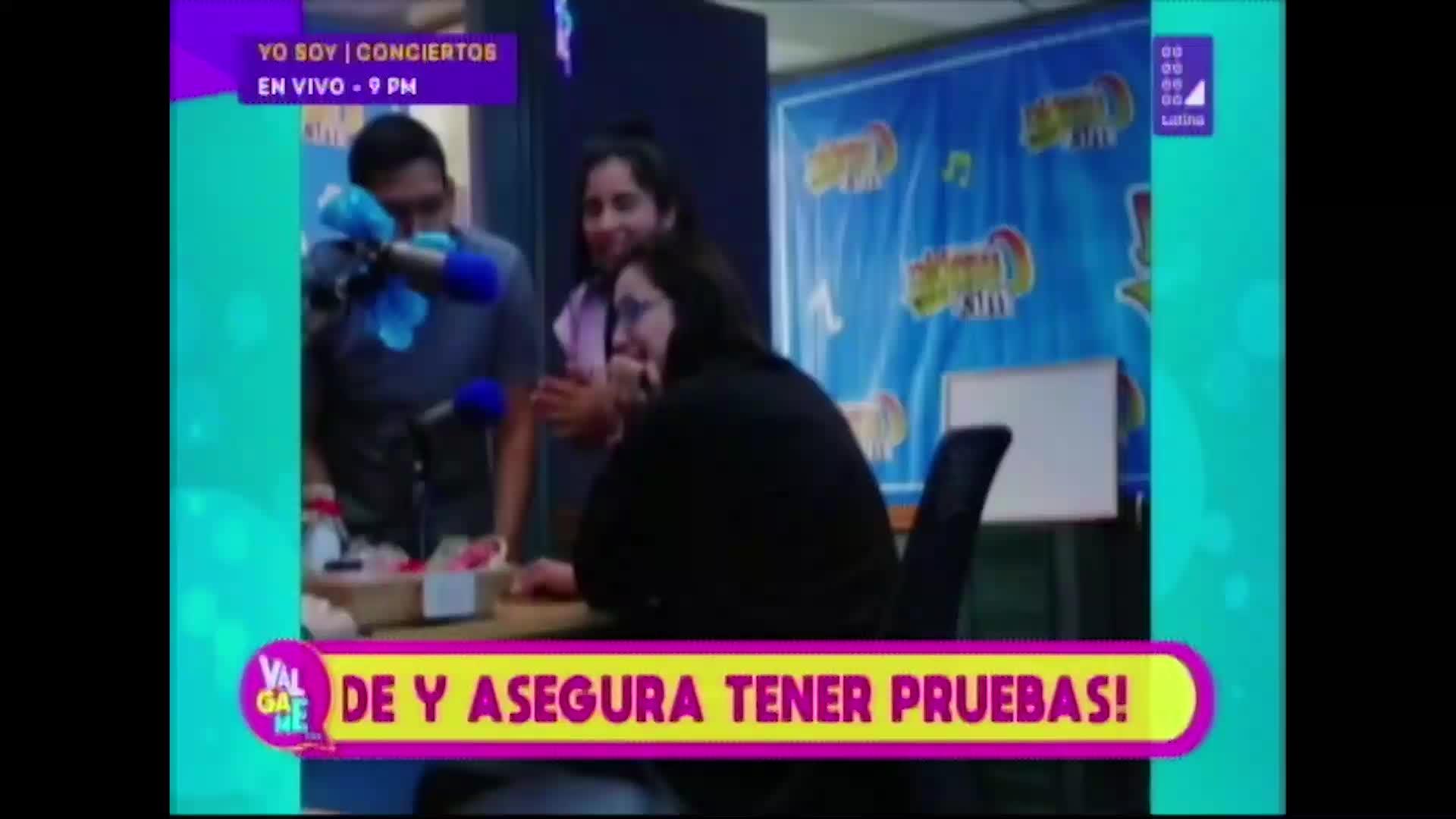 Karla Tarazona es sorprendida por misterioso 'galán' - Diario Ojo