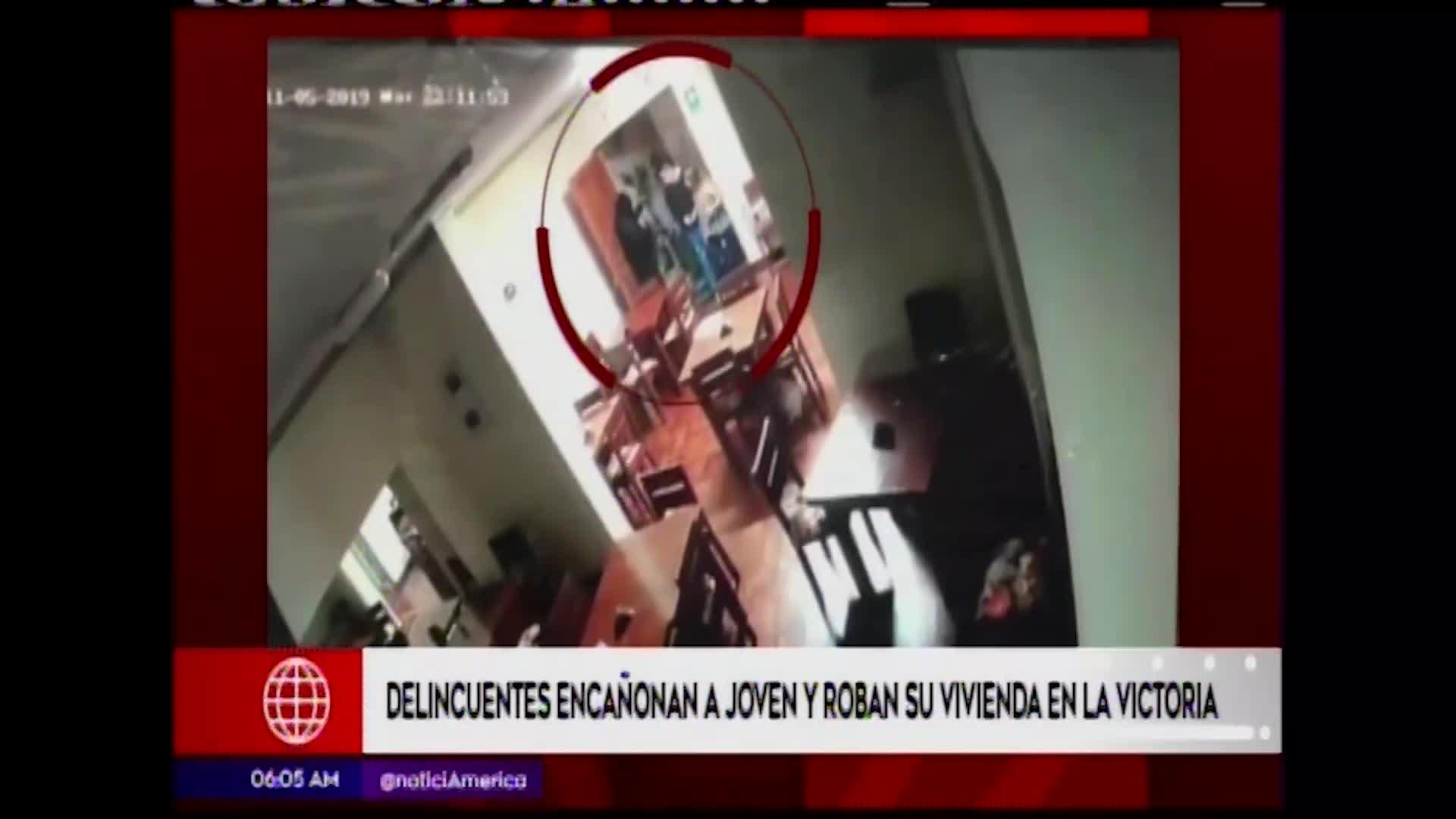 La Victoria: sujetos amenazan con arma de fuego a joven para robar su vivienda