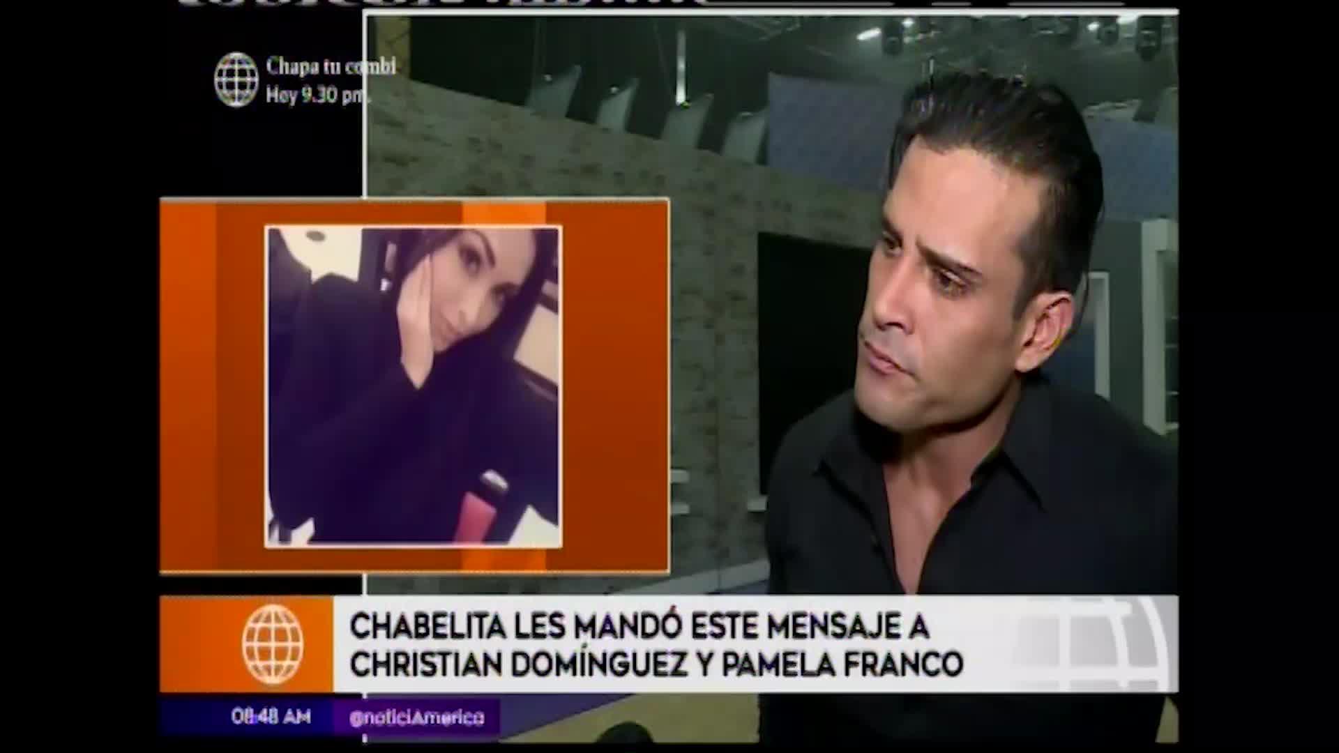 En boca de todos: Isabel Acevedo envía mensaje a Christian Domínguez y Pamela Franco