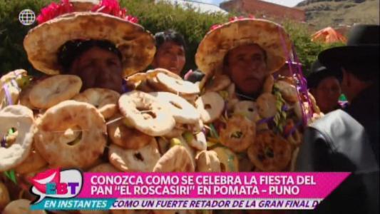 Conoce la curiosa fiesta del pan que se realiza en Puno